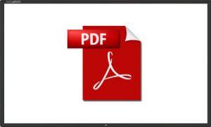 Ouvrir un fichier pdf sur l'ecran easypitch