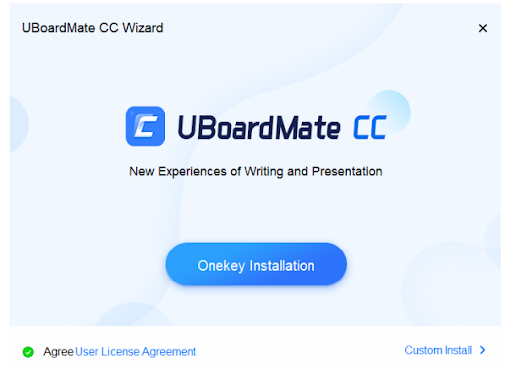 Installation de uboardmate cc